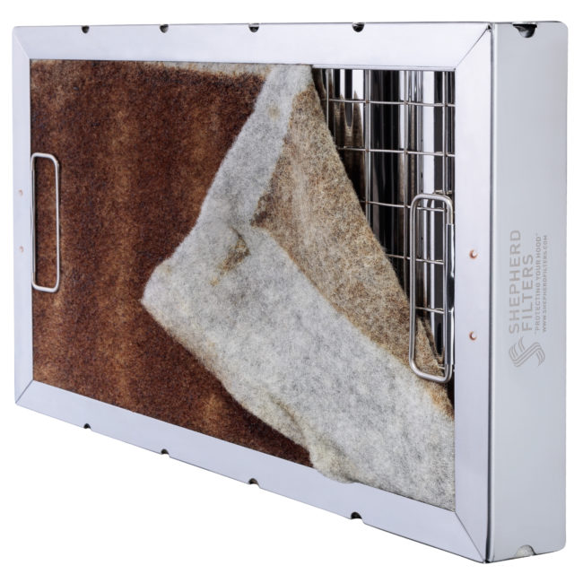 Disposable Kitchen Grease Filters Made From Wool