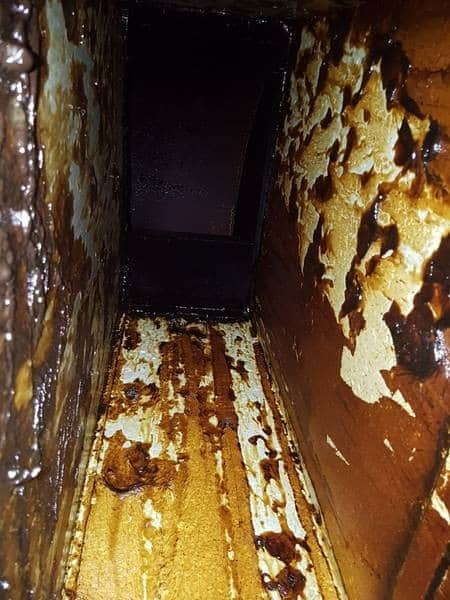 Kitchen Exhaust Grease Duct Cleaning How To Cut Down