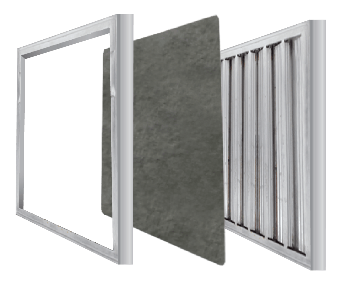 kitchen hood filters by shepherd filters