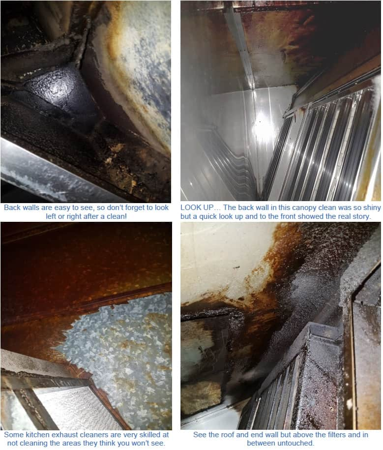 kitchen exhaust cleaning gone wrong