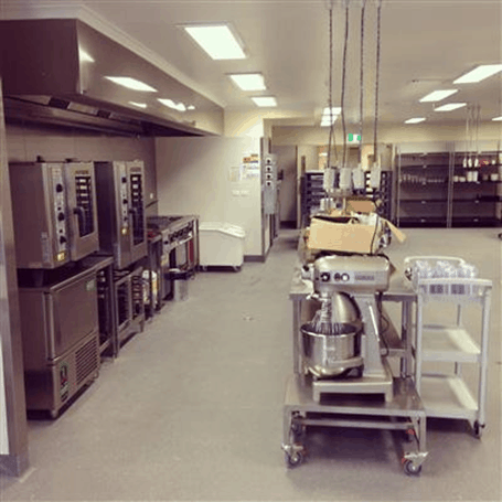 Aged Care Facility kitchen layout example
