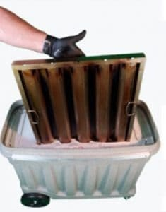 soaking grease filters