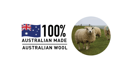 Australian made wool disposable kitchen grease filters