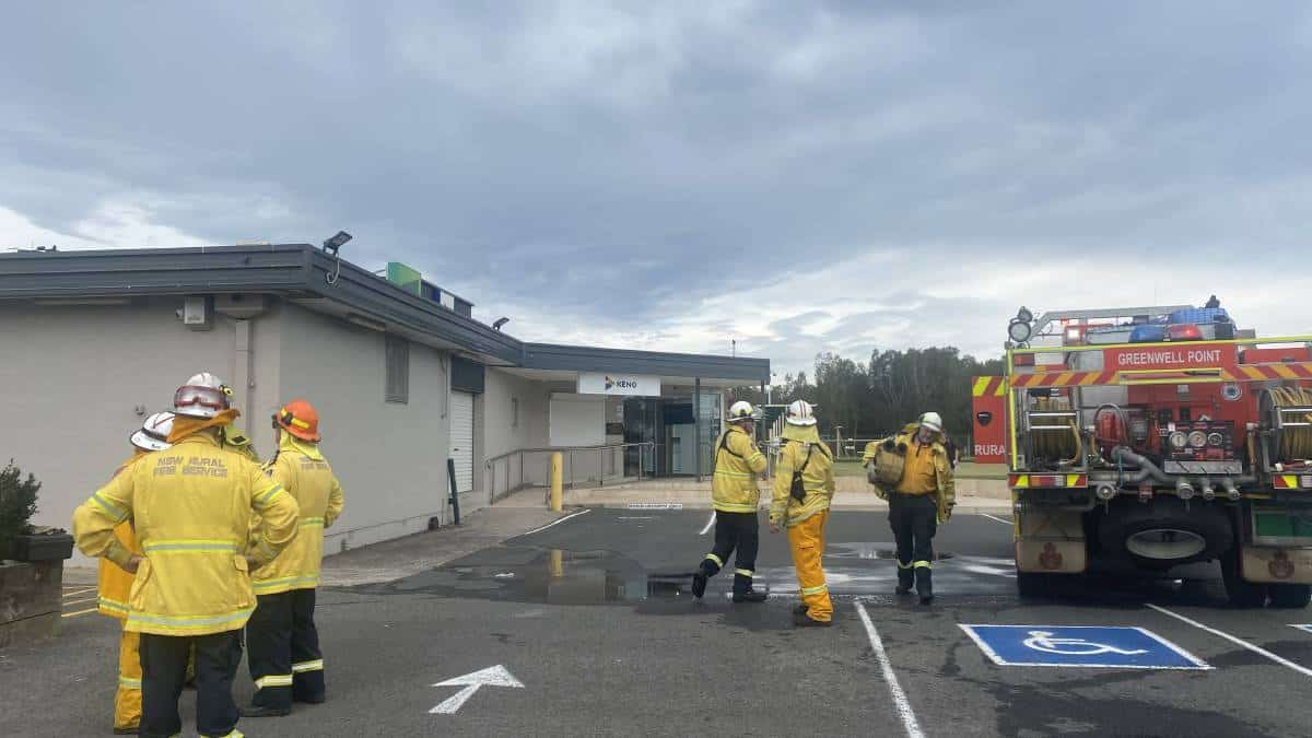 commercial kitchen range hood fire