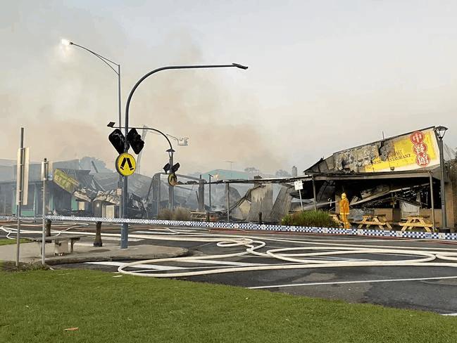 Apollo Bay Fire Damage Extent