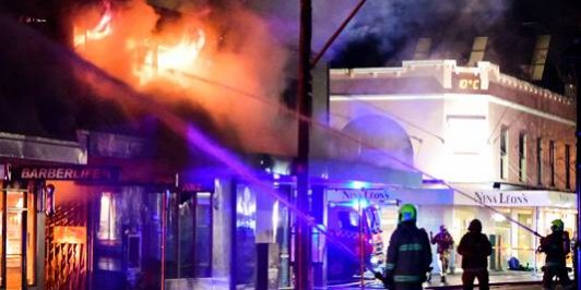 grease fire possible cause